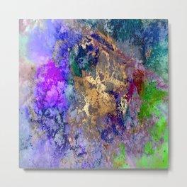 Abstract, galaxy Metal Print