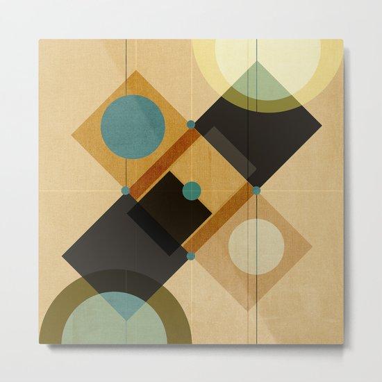 Geometric/Abstract 3 Metal Print