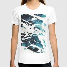 Dark Ocean Waves T-shirt