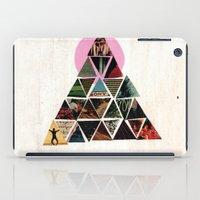 pyramid iPad Cases featuring PYRAMID by dara dean