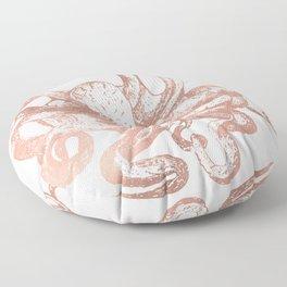 Rose Gold Octopus Floor Pillow