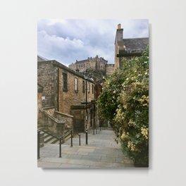 Castle Steps. Metal Print