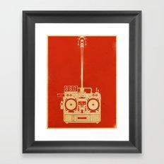 88mph Framed Art Print