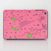 girly iPad Cases featuring Girly by Amanda Trader