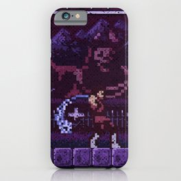 Simon's Vania Castle Quest iPhone Case