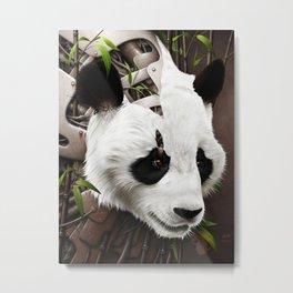 Wild2 - The Panda Metal Print