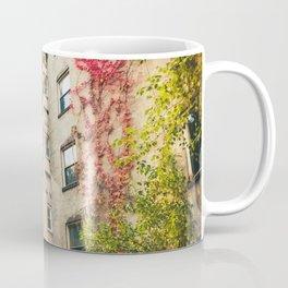 Autumn - New York City - East Village Garden Coffee Mug