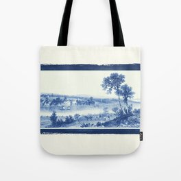 Lake Champlain 1850 (Cyanotype) Tote Bag