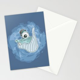 Will the Whale Stationery Cards