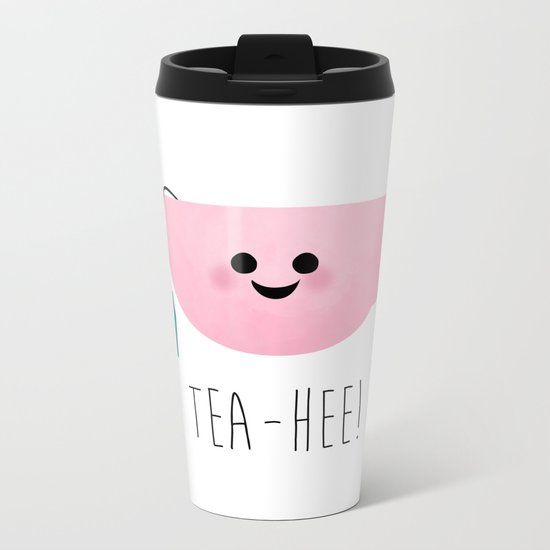 Tea-Hee Metal Travel Mug