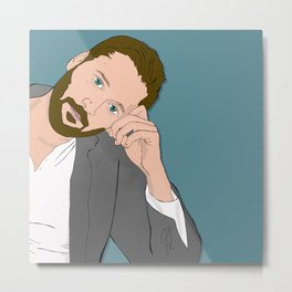 Ryan Eggold Metal Print