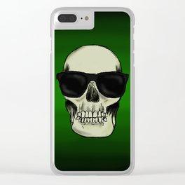 Hear No Evil, See No Evil, Speak No Evil Skulls Clear iPhone Case