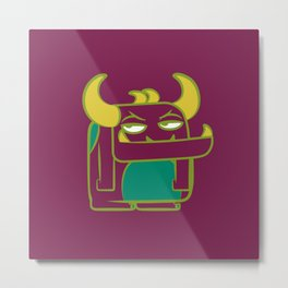 cutie monster_06 Metal Print