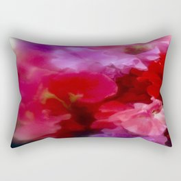 Sweet Peas Rectangular Pillow