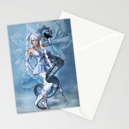 Manga Blue Dragon Stationery Cards