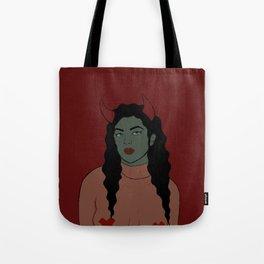 Devil Babe Tote Bag