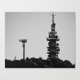 Telegraph Tower Canvas Print
