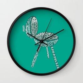 Grill Wall Clock