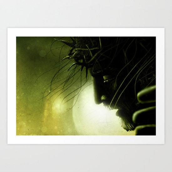 Crucified Jesus Art Print