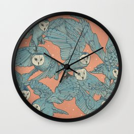 Court of owls Wall Clock