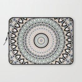 Black and Pastel Mandala Laptop Sleeve