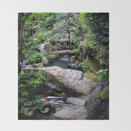 Kyoto no Koi Throw Blanket