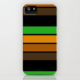 Striped pattern 11 iPhone Case