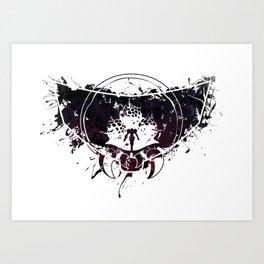 Inked Parasite Art Print