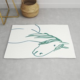 Colorful horse Rug