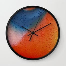 Painted Wall Clock