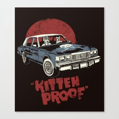 Kitteh Proof Canvas Print