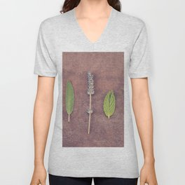 Herbs Unisex V-Neck
