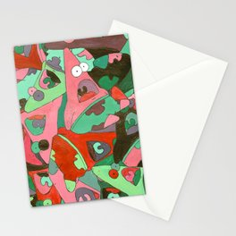 Surprised Patric Stationery Cards