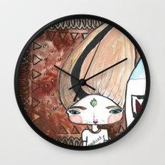 Milk & Cookies Bhoomie Wall Clock