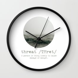 Threat Wall Clock