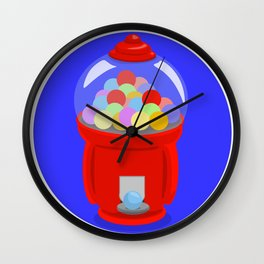 Gumball Machine Wall Clock