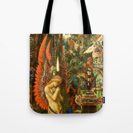 Portrait of the Goddess Saturn by Gustave Moreau Tote Bag