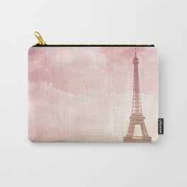 Paris in Pink Carry-All Pouch