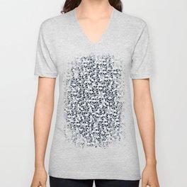 Skull Sketch Pattern Unisex V-Neck