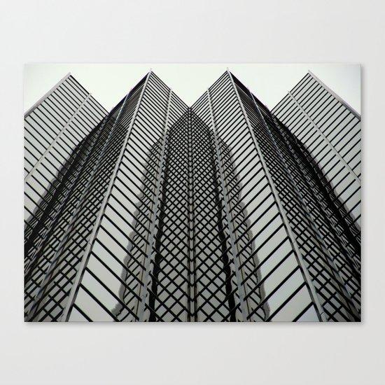 Linear Mirrors Canvas Print