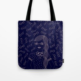 You and I make a fine 'SPECTACLE'. Tote Bag