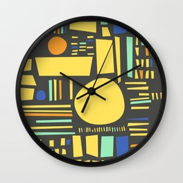 Sunshine Study #6 Wall Clock