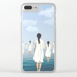 Fregoli D. Clear iPhone Case