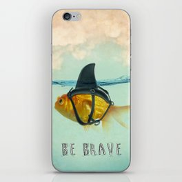 Be Brave - Brilliant Disguise iPhone Skin