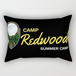 Redwood Camp Rectangular Pillow