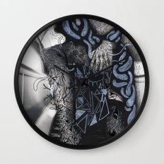 Psychoactive Bear 6 Wall Clock