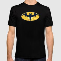 Nightwing Mens Fitted Tee Black SMALL