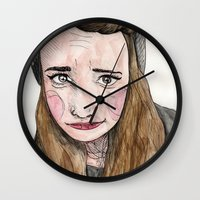 weird Wall Clocks featuring Weird. by Nova