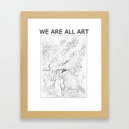 Universal Child Framed Art Print