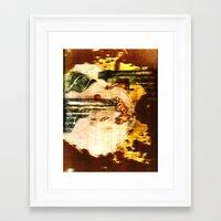 ramen Framed Art Prints featuring ramen by meredith w ochoa